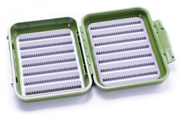C&F Design CF-1677 Olive wasserdichte Fliegenbox 14 Reihen