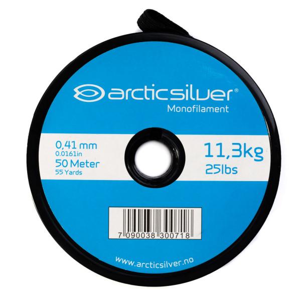 ArcticSilver Monofil Tippet auf Spule Vorfachmaterial