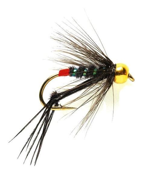 Fulling Mill Nymphe - Hopper Black (Gold Nugget)