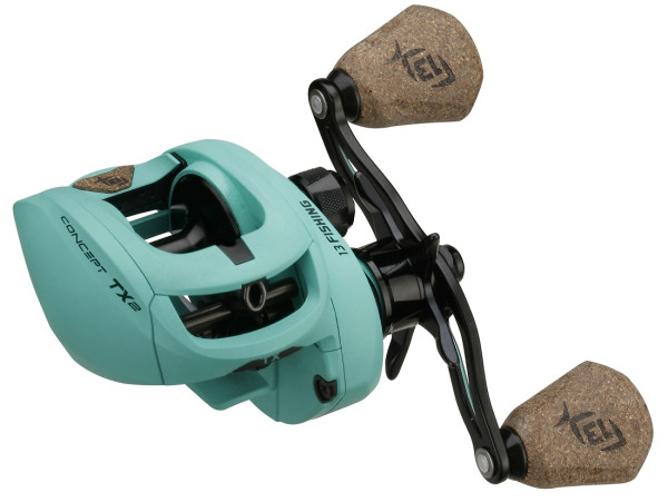 13 Fishing Concept TX2 LH Baitcaster Rolle