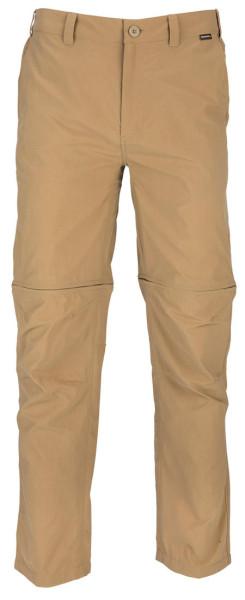 Simms Superlight Zip-Off Pant Hose cork