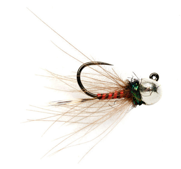 Fulling Mill Nymphe - Rozas Red Devil Jig Barbless