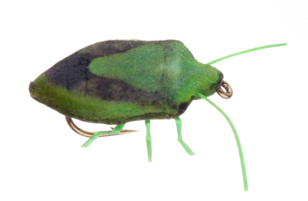 Vania Realistic Stink Bug Trockenfliege green