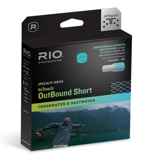 Rio InTouch OutBound Short Fresh-/Saltwater Fliegenschnur Float/Intermediate