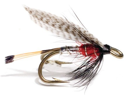Unique Flies Meerforellen- und Lachsnassfliege - Peter Ross Silver Red
