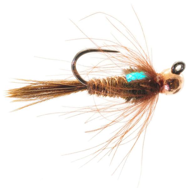 Umpqua Nymphe - Jigged CDC Pheasant Tail Tungsten Nymph