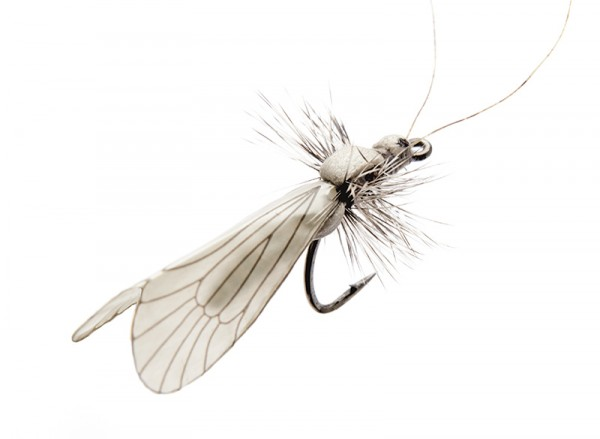J:son Realistic Flies - Caddis Adult ash grey
