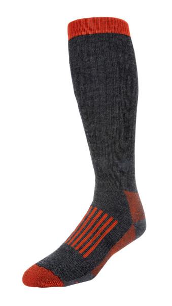 Simms Merino Thermal OTC Sock Watsocken carbon