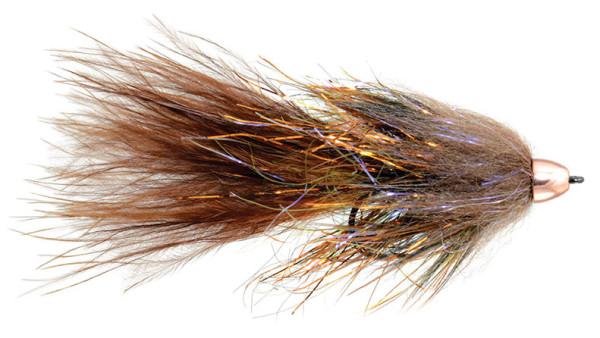 Fulling Mill Streamer - Complex Twist Bugger brown