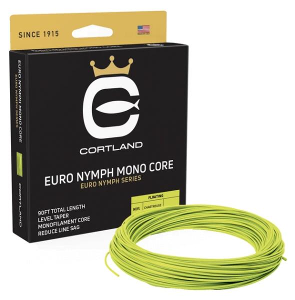 Cortland Hi-Vis Euro Nymph Mono Core Level Fliegenschnur