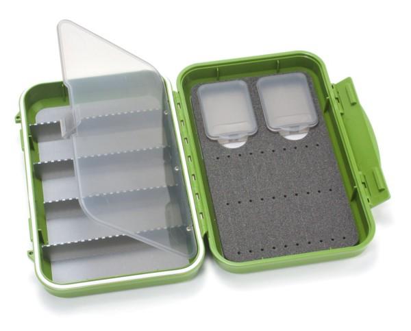 C&F Design CF-2405H wasserdichte Fliegenbox für Tubenfliegen olive