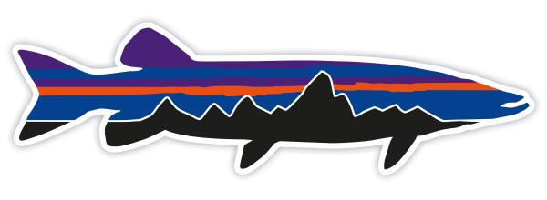 Patagonia Fitz Roy Pike Sticker