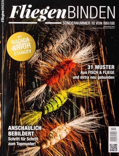 Fliegenbinden - Fisch & Fliege Sonderheft Nummer 10