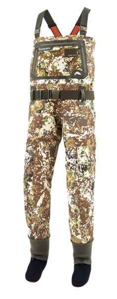 Simms G3 Guide Stockingfoot Wathose river camo