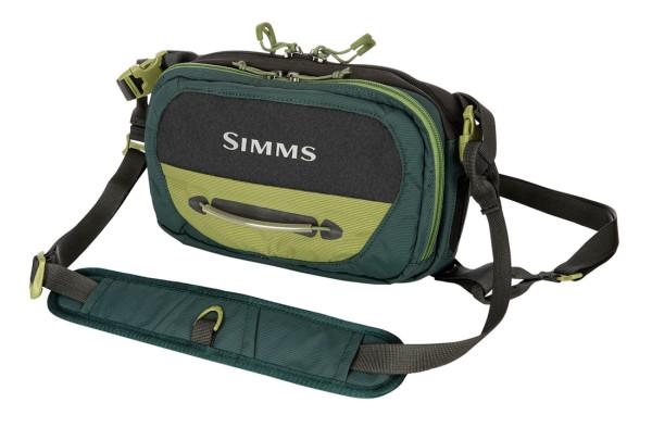 Simms Freestone Chest Pack Brusttasche shadow green