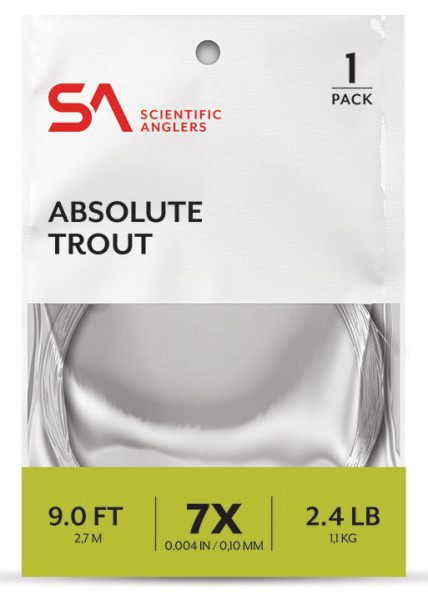 Scientific Anglers Absolute Trout Leader Vorfach 9ft.