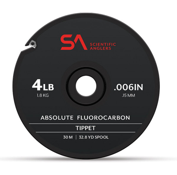 Scientific Anglers Absolute Fluorocarbon Trout Tippet Vorfachmaterial