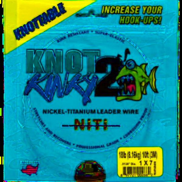 Knot2Kinky Multi Strand 1x7 Nickel Titan Vorfach Draht