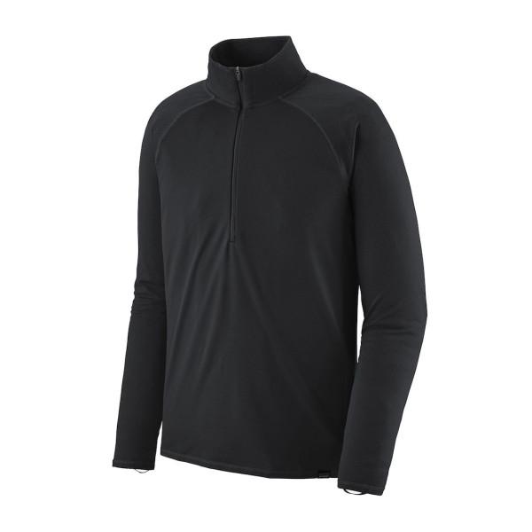 Patagonia Capilene Midweight Zip-Neck BLK Black (BLK)