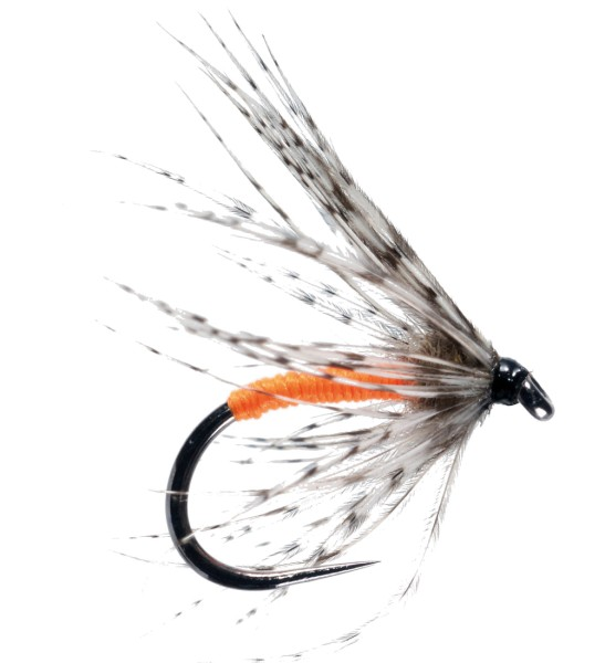 Soldarini Fly Tackle Nassfliege - Partridge and Orange