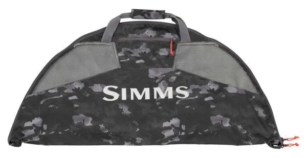Simms Taco Bag Tasche für Watbekleidung hex flo camo carbon