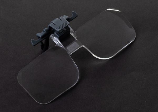 Cortland Flip Focal Eyeglass Clip & Flip Magnifier Vergrößerungsglas