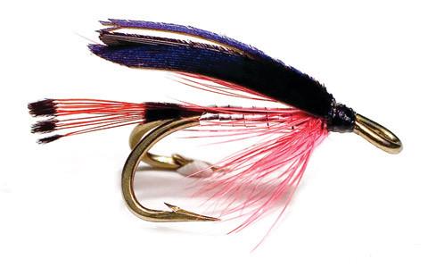 Unique Flies Meerforellen- und Lachsnassfliege - Bloody Butcher silver/red