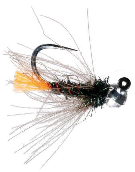 Soldarini Fly Tackle Nymphe - Orange Tag