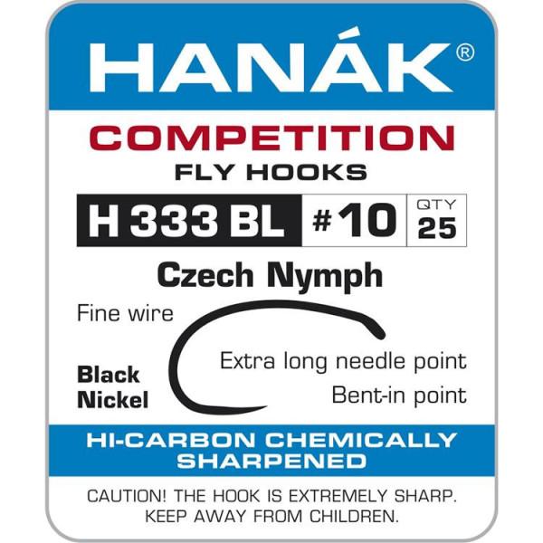Hanak H 333 BL Czech Nymph Haken