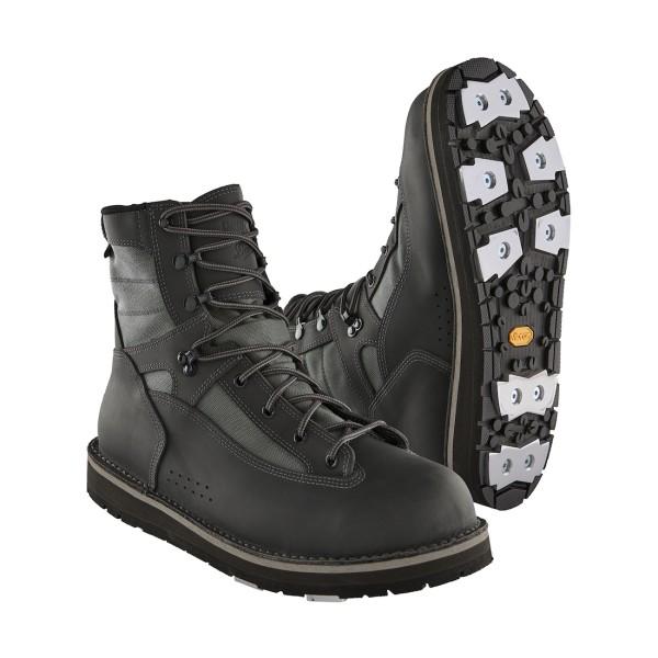 Patagonia Danner Foot Tractor Wading Boots Watschuh Aluminium Bar
