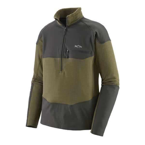 Patagonia R1 Fitz Roy 1/4 Zip Fleece Pullover SKA