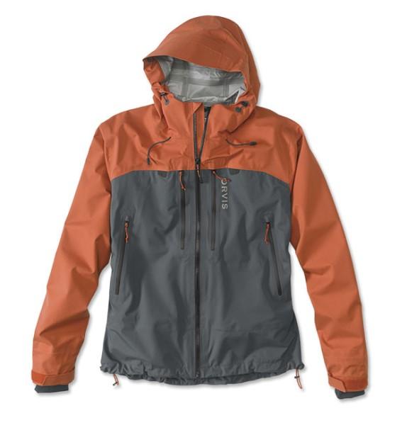 Orvis Ultralight Watjacke Orange/Ash Orange/Ash