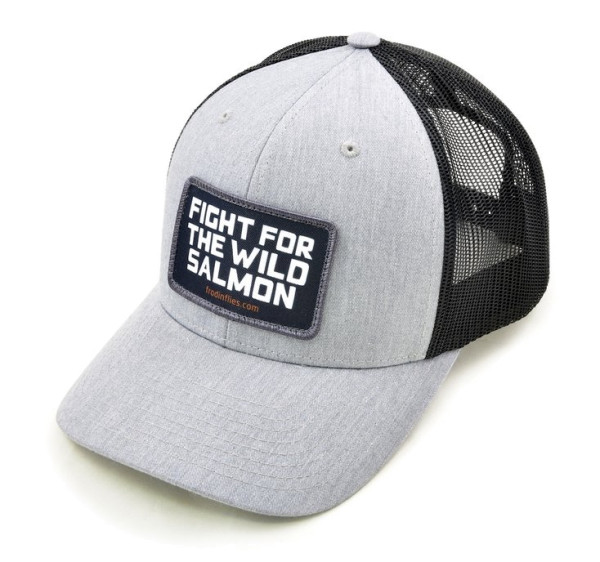 Frödin Wild Salmon Trucker Hat light grey