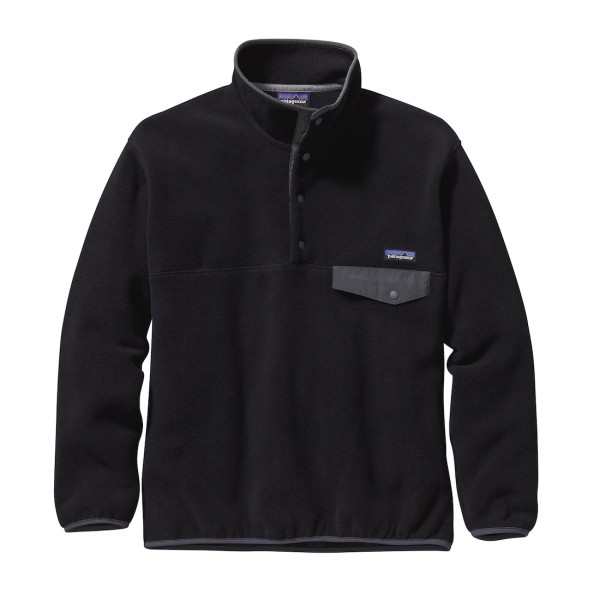 Patagonia Synchilla Snap-T Fleece Pullover BFO Black/Forge Grey (BFO)