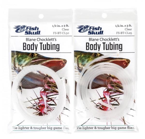 Fish Skull Blane Chocklett's - Body Tubing Clear