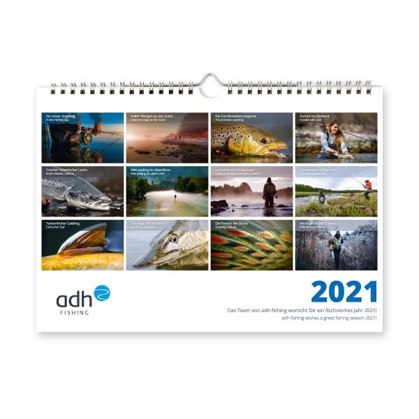 adh-fishing Wandkalender 2021