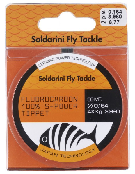 Soldarini Fly Tackle Fluorocarbon S-Power Vorfachmaterial