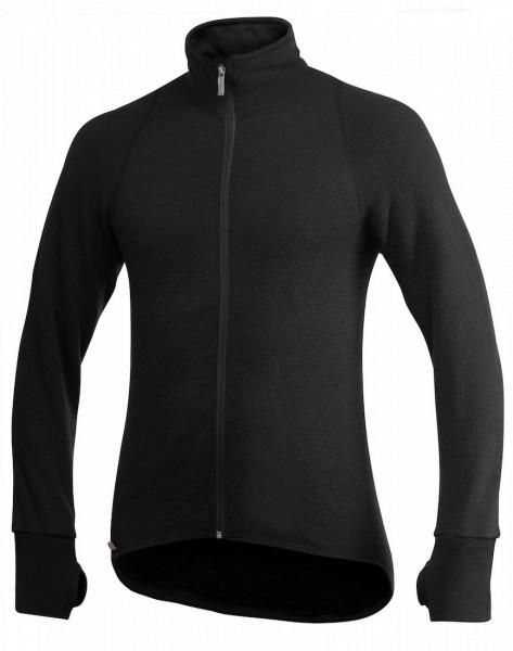 Woolpower Full Zip Jacket 600 Jacke black