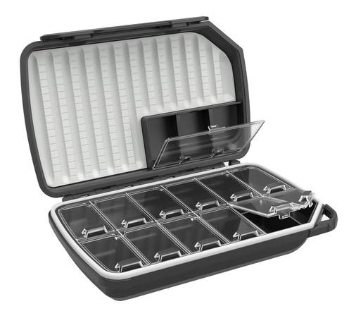 Loop Opti 180 Dry Fly Box Fliegenbox carbon grey