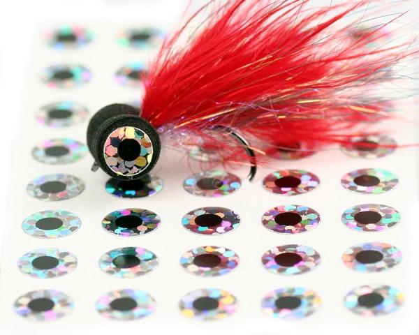 Flat Stick on Eyes Augen Bindebeispiel (holo)