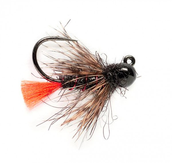 Fulling Mill Nymphe - Tungsten KJ Flashback Red Tag Jig Barbless