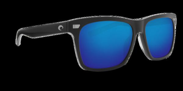 Costa Polarisationsbrille Aransas Matte Black (Blue Mirror 580G)