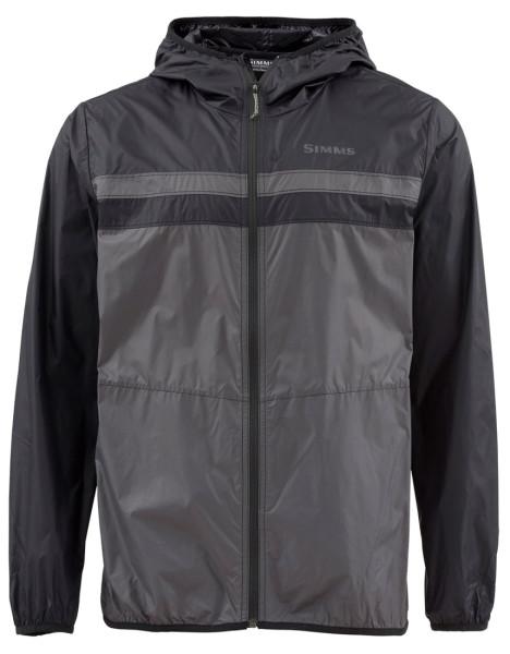 Simms Fastcast Windshell Jacket Jacke black/slate