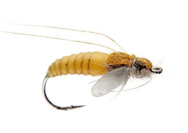 J:son Realistic Flies - Caddis Pupa yellow