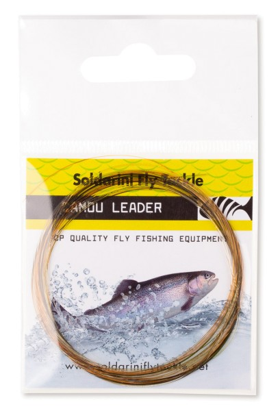 Soldarini Fly Tackle Camou Leader Vorfach 9 ft