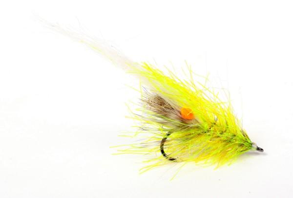 Guideline Meerforellenfliege - Alive Reke Chartreuse