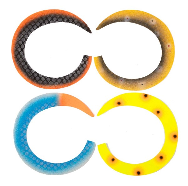Pacchiarini Custom Colors Wiggle Tails Jumbo Slim