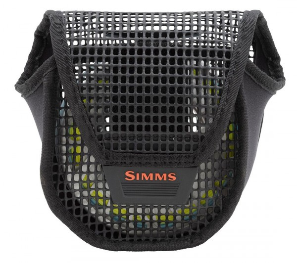 Simms Bounty Hunter Mesh Reel Pouch Rollentasche large