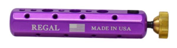 Regal Tool Bar - Werkzeughalter für Bindestöcke ultra violet