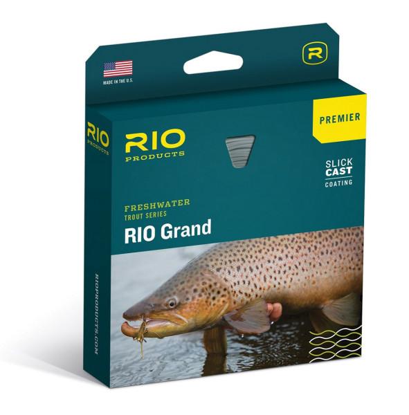 Rio Premier Grand Fliegenschnur camo/tan